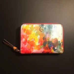 Tory Burch Kerrington Watercolor Coin Case